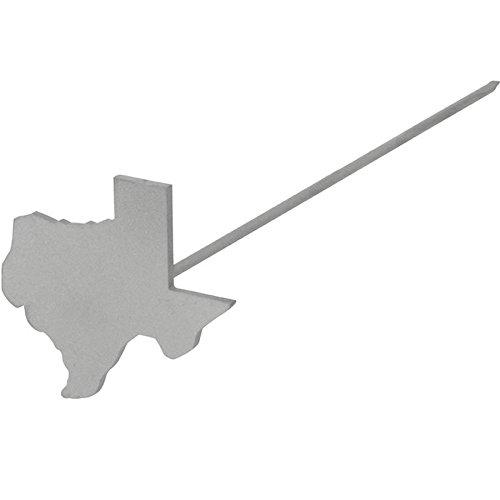 BBQ Fans Mini Texas Wood/Leather Branding Iron ()