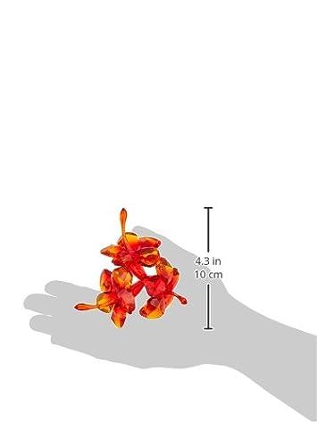 Swarovski Red Hibiscus Figurine