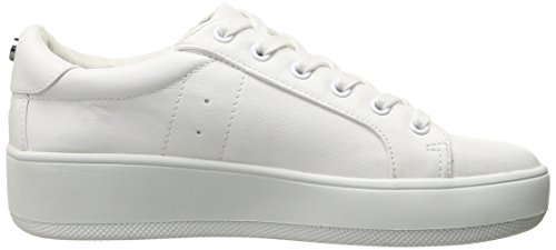 Steve Madden Bertie-m, Tenis a la Moda para Mujer Blanco
