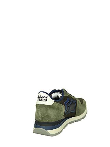42 Militare Stars Bassa Antares Sneakers Uomo Atlantic xwYdXqtq