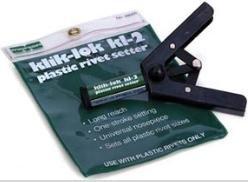 Marson 48005 Klik-Lok KL-2 Plastic Rivet Setter (Pack of (Klik Lok Plastic Rivet)