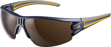 Evil Eye Half Rim S Sunglasses Matte Blue / Orange / LST Contrast