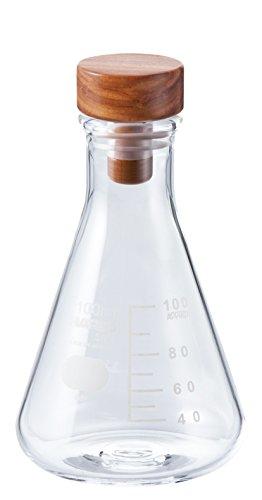 Transparent Flask - HARIO Erlenmeyer Cooking Flask, 120g, Transparent