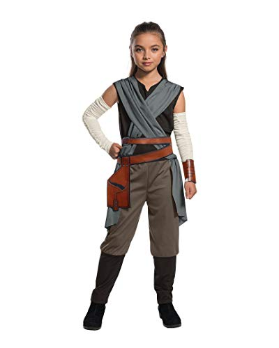 Rubie's Star Wars Episode VIII: The Last Jedi, Child's Rey Costume, Large -
