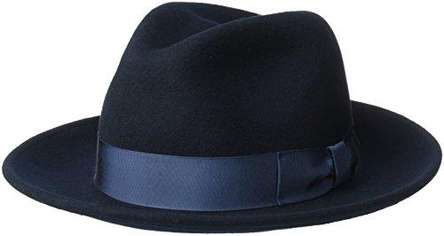 Country Gentleman Men's Frederick Wide Brim Fedora Hat, N...