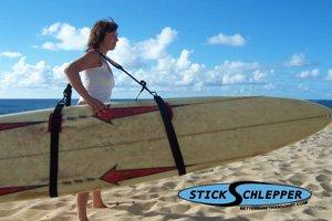Amazon Com Stick Schlepper Surfboard Longboard Carrier Strap Sling