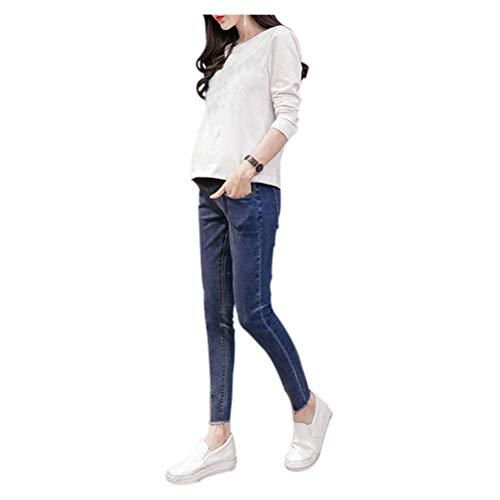 Deylaying Neuf Mom Femmes Maigre Leggings de maternit Jean lastiques Pantalon Style 1