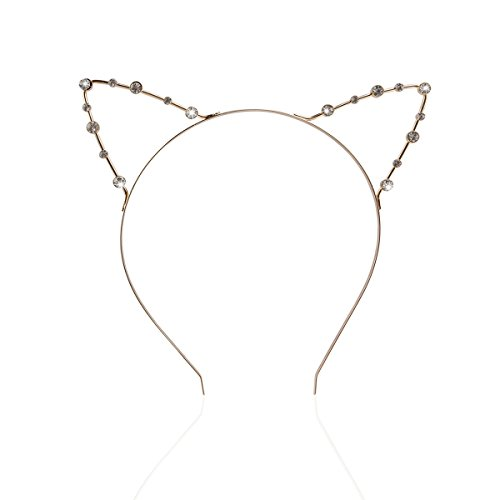Pixnor Crystal Pearl Shot In Cat Ears Child