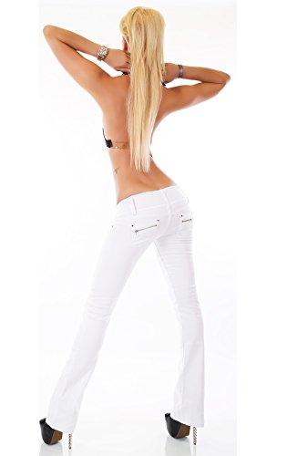 Blanc Wei SinneMaXX Wei Femme Jeans qtqWEPA