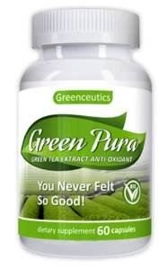 photo Wallpaper of -Green Pura   Green Tea Extract Anti Oxidant (60 Capsules)-