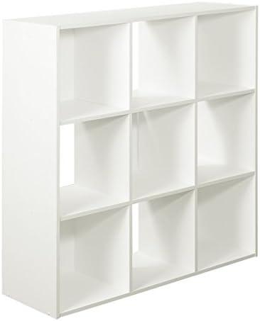 9-Cube Organizer, White