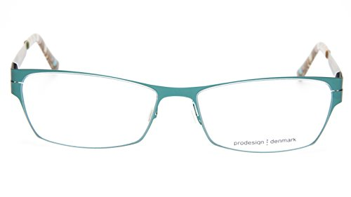 NEW PRODESIGN DENMARK 6129 c.9521 GREEN EYEGLASSES FRAME 53-16-140 B31mm Japan