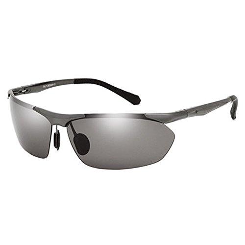 de soleil lunettes lunettes de pour Grauer de Lunettes polarisées coréen hommes nouvelles soleil Rahmen soleil xzYxwaqgF