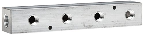 Manifold Bar 300 (Dixon AMF43 Aluminum Air Fitting, Bar Manifold, 3/8