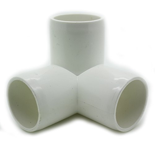 3 way tee pvc fitting build heavy duty pvc furniture for Pvc pipe furniture