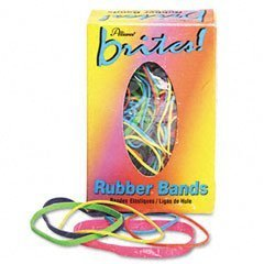 Alliance Brites! Color-Coded Rubber Bands (ALL07714) by Alliance