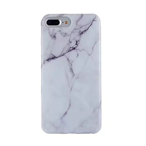 iphone x Stone Marble Granite Pattern Ultra-Thin Anti-Scratch Shock Proof Dust Proof Anti-Finger Print TPU Full Protection Bumper Silicone Soft matte carrying Cover case (Polished White, Iphone (White Full Cover Case)