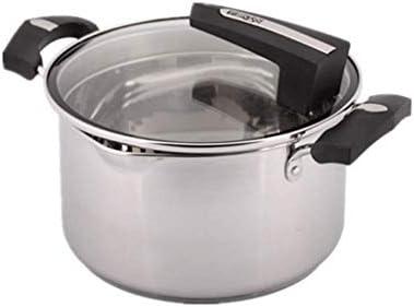 JU FU La poêle Pot - 304 En Acier Inoxydable Pot À Soupe Cuit Au Lait Pot À Nouilles Pot Épaissi Fond Avec Épaississement Du Couvercle Du Pot @@