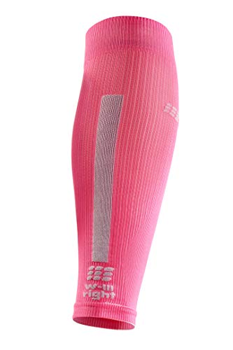 CEP Women's Compression Run Sleeves Calf Sleeves 3.0, Rose/Light Grey II by CEP (Image #2)