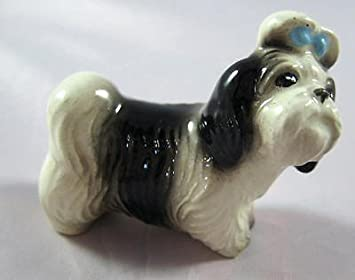 "Hagen-Renaker Miniature Ceramic Animal Figure Shih Tzu /""Mandy/"" 2076"