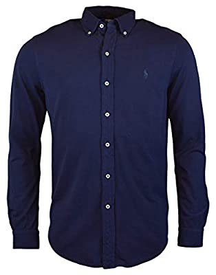 Polo Ralph Lauren Men's Long Sleeve Featherweight Mesh Button Front Shirt