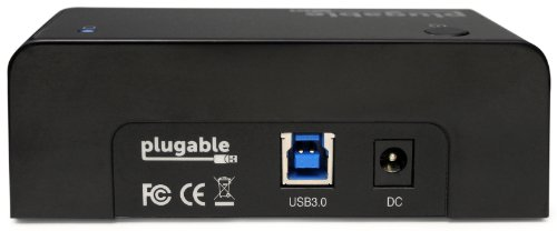 Plugable USB 3.0 Hard Drive Dock for 2.5 and 3.5 HDD or SSD (Supports SATA III, UASP and Drives 8TB+)