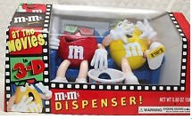 M&M'S® At The Movies Candy Dispenser Red and Yellow for sale  Delivered anywhere in USA