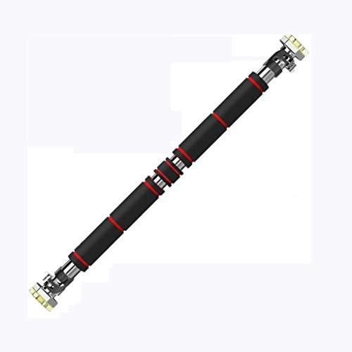 ドアジム 懸垂バー ドア 水平バー ドアジム 鉄棒 ぶら下がり健康器 ウルトラスポーツ 懸垂バー ドアジム 耐荷重100kg/150kg ネジ止め・つっぱりどちらでも使用できる (Color : Black, Size : 85~108cm)