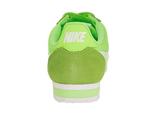 Sport Verde Chaussures Classic Vert Femme White Green Wmns Nylon Cortez ghost Nike De wYRIqx