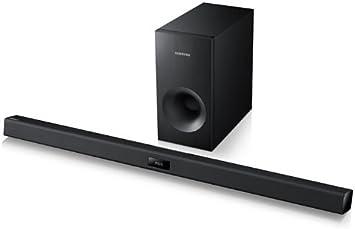 Samsung HW-F355 - Barra de sonido 2.1 de 120W (Bluetooth), negro: Amazon.es: Electrónica