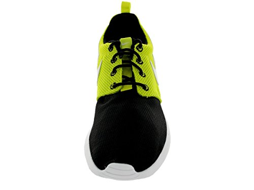 Nike Kids Roshe One Se (gs) Scarpa Da Corsa Nero / Bianco-veleno Verde
