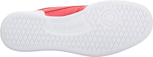 Reebok Mens Club C 85 Fashion Sneaker Primal Rosso / Bianco / Nero / Blu Vitale / Triathlon Rosso