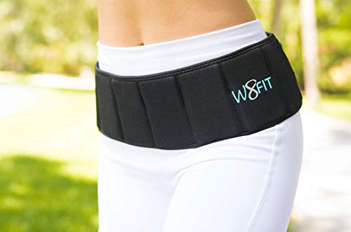 W8FIT Adjustable Weighted Belt 8 lbs (Small/Medium)