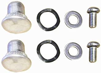 Detachable Latch Kit Nut//Bolt//Stud with Bolt /& Washers for Harley Davidson