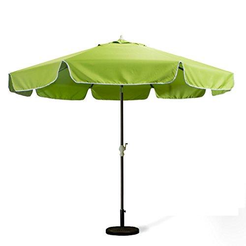 All Things Cedar 10Ft. Green Patio Umbrella