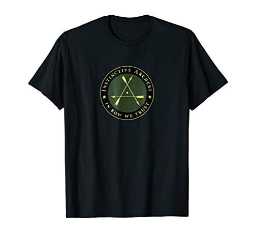 Instinctive Archery - Official Patch Tshirt (Era Of Archery Book)