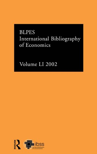 Download IBSS: Economics: 2002 Vol.51 (Ibss Economics: International Bibliography of the Social Sci) Pdf