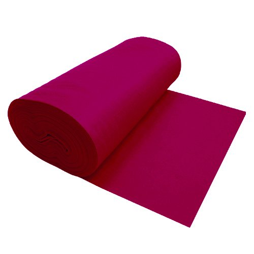 Design Wool Blend - Nu-Source Inc. Premium Felt Fuchsia 1047-72 X 1YD