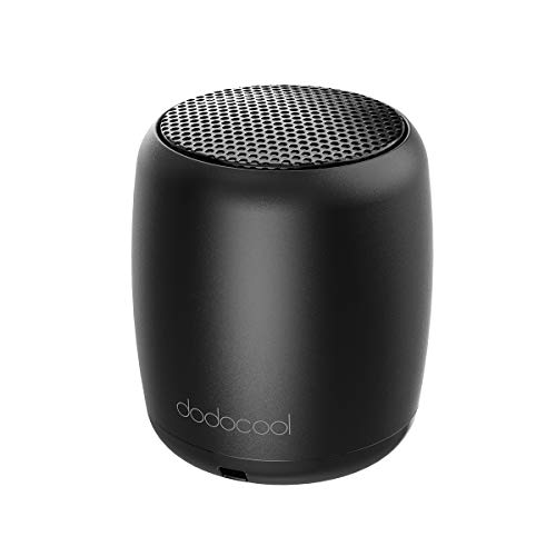 dodocool Bluetooth Speakers, Portable Wireless Speaker Built-in Mic Selfie Remote Control, Low Harmonic Distortion iPhone iPad Android Smartphone More (Black) by dodocool