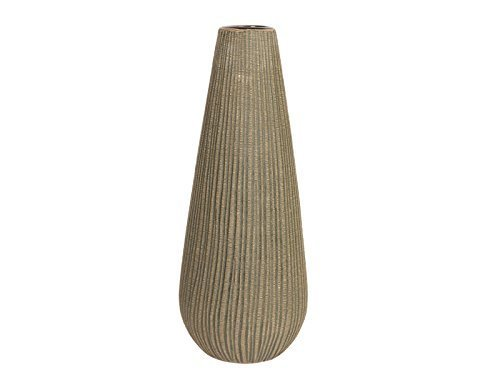 "Hosley 12.5 Inch High Textured Ceramic Vase Ideal Gift for Weddings or Special Occasions and Spa or Reiki or Study Settings O8 - PRODUCT: Hosley's 12.5"" High Textured Ceramic Vase USE: Great for adding a decorative touch to any room's decor. Wonderful accent piece for coffee tables or side tables. Perfect for everyday use, wedding, events, aromatherapy,Spa, Reiki, Meditation. BENEFITS: It can accent your home or office for the right decor with or without floral or greenery additions. Must use liner if used with fresh flowers. - vases, kitchen-dining-room-decor, kitchen-dining-room - 31aSXQV5%2BZL -"