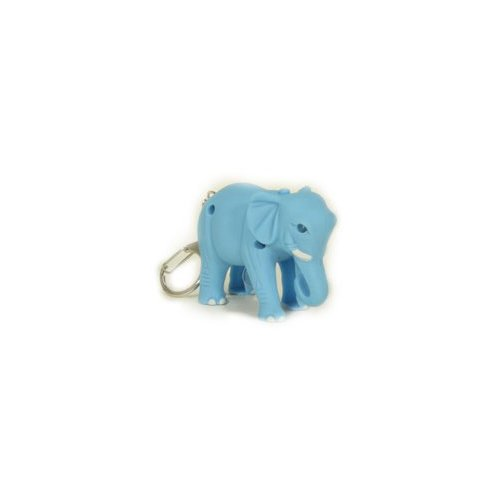 3x Elephant LED Key Chain with Sound (pack of 3pcs) by BGF