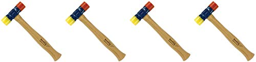 Estwing Rubber Mallet - 12 oz Double-Face Hammer with Soft/Hard Tips & Hickory Wood Handle - DFH12 (4)