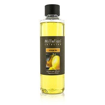 Millefiori Milano Selected Refill Diffuser Stick, 250ml, Orange Tea