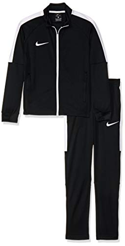 Nike Soccer Suit - NIKE Dry Academy Older Kids' Football Track Suit (L, Black/White)