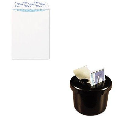KITLEE40100QUACO926 - Value Kit - Columbian Grip-Seal Security Tinted Catalog Envelopes (QUACO926) and Lee Ultimate Stamp Dispenser (LEE40100)
