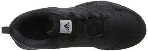 Adidas Essential Star 3 M, Scarpe da Ginnastica Uomo, Nero (Negbas/Neguti/Ftwbla), 39 EU