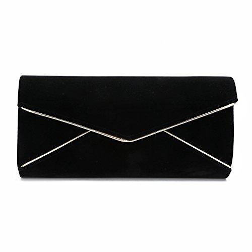 VESIA Noir pour Ve femme Pochette 5471552 Noir BOBnUYp