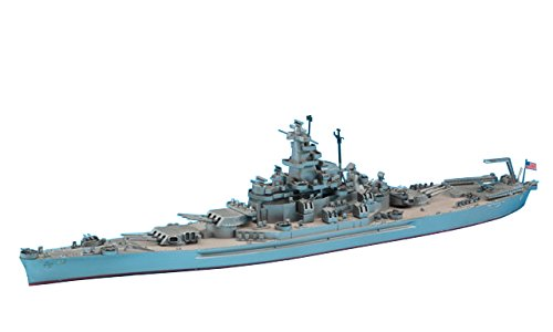 Hasegawa 1/700 USS South Dakota 1 700 Scale Model Ships
