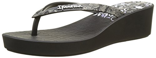 III Deco Sandales Ipanema Plateforme Femme Fem Black Noir Black Art 6nCn5R