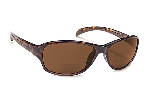 Coyote Eyewear BP-14 Polarized Bi-Focal Reading Sunglasses in Tortoise w/ Amber Lens - W/bifocals Sunglasses